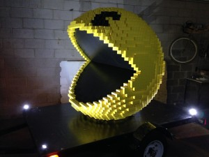 Pacman features in the upcoming Pixels movie