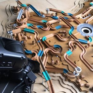 Blueprint 4D CNC machined marble run